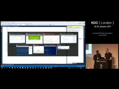 Patterns for application development with ASP.NET Core - Damian Edwards & David Fowler