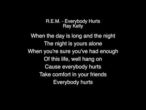 Ray Kelly - Everybody Hurts Lyrics ( R E M ) BGT 2018