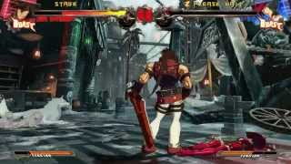 Guilty Gear Xrd Sign 60FPS Gameplay (Direct Capture)