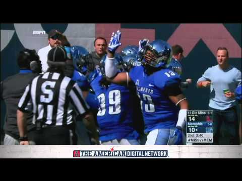 Highlights: Memphis 37, Ole Miss 24