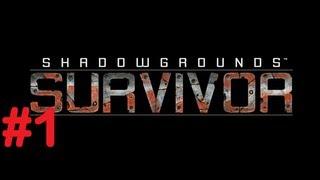 Shadowgrounds Survivor Let's Play Walkthrough Part 1 [HD]