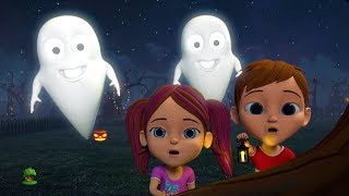 It's Halloween Night | Halloween Rhymes for Kids | Cartoon Videos by Little Treehouse