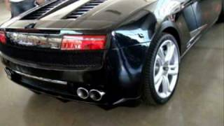 Lamborghini Gallardo LP560-4 Spyder vs Ferrari California Engine Action Sound