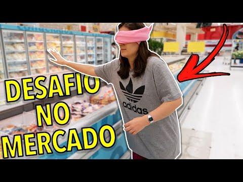 DESAFIO ÀS CEGAS NO MERCADO!