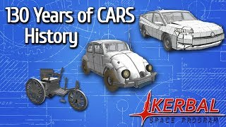 130 years of CARS EVOLUTION 1885-2019 | KSP