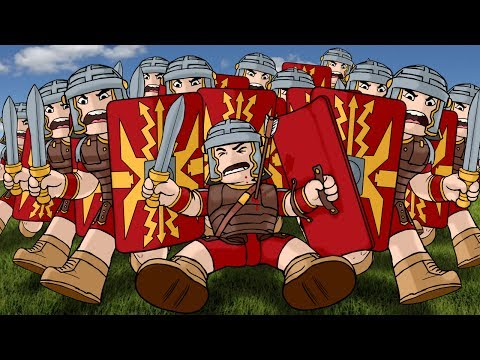Roblox | INVADED A ROMAN FORT - Germania Rome Fort! (Roblox Adventures)