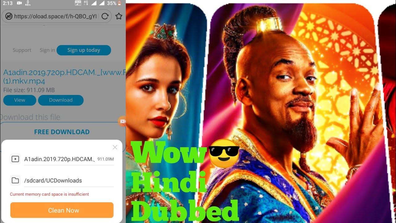 Download Download Aladdin(2019) Full Movie Hindi Dubbed||1000% #real||Allatech