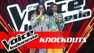 Zahra vs Jaqlien | Knockouts | The Voice Indonesia GTV 2018
