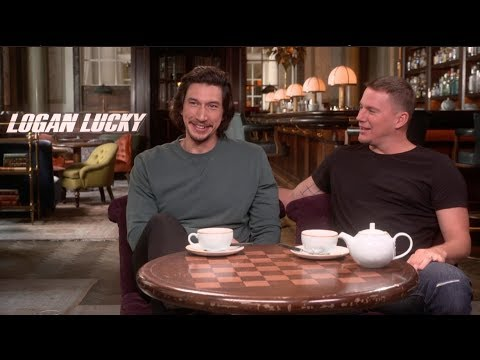 Adam Driver on making martinis with one arm