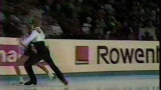 Torvill & Dean (GBR) - 1984 Worlds, Ice Dancing, Original Set Pattern