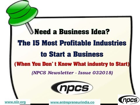 Need a Business Idea? The 15 Most Profitable Industries to Start a Business