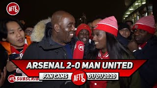 Arsenal 2-0 Man United | Maitland Niles Is Looking Like A Certified Right Back! (Pippa Monique)