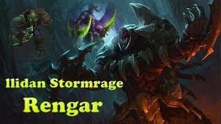 ★ llidan Stormrage Rengar - Chroma Gameplay