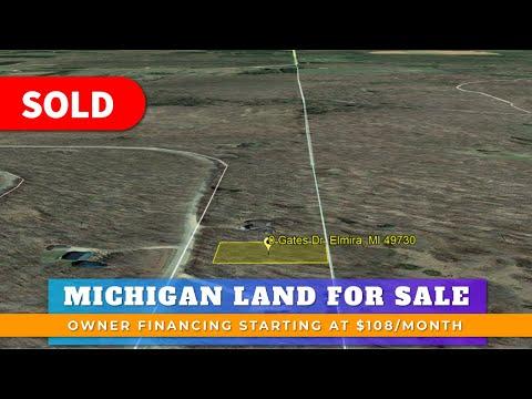 0.46 Acre Residential Vacant Land For Sale Lot 295 Gates Dr, Elmira, MI Antrim County