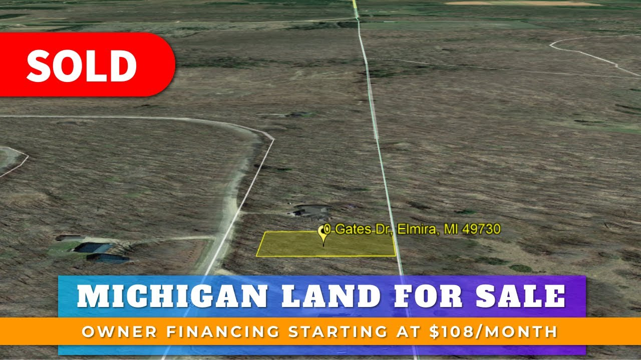 Just Sold By WeSellNewYorkLand.com - Cheap Land For Sale Lot 295 Gates Dr, Elmira, Michigan