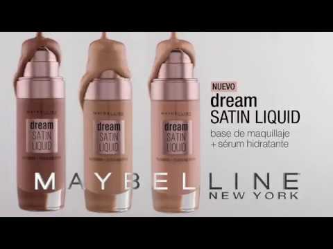 30907cb08 Maybelline Dream Satin Liquid - Paco Perfumerías - YouTube