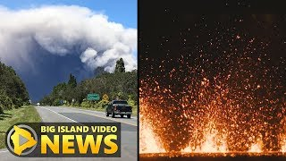 Scientists Describe Eruption At Kilauea Summit, Lower Rift (May 15, 2018) thumbnail