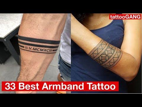 33 Best Armband Tattoo Designs