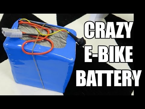 Crazy E-Bike Battery!!!