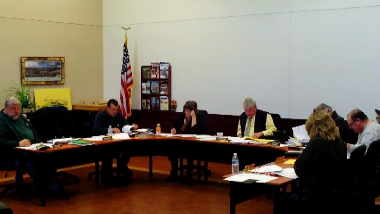 Dannemora Town Board Meeting  10-24-18