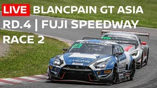 LIVE Race 2 - Rd. 4 Fuji | 2018 - Blancpain GT Series Asia | English commentary and Chat thumbnail