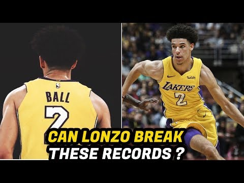 The 3 NBA Records Lonzo Ball COULD BREAK!