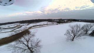 Blade 350 QX2 AP combo - first FPV test flight in (stability mode)