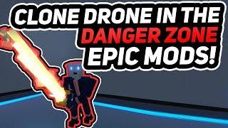 FREE MODS FOR CLONE DRONE IN THE DANGER ZONE   Download in Description