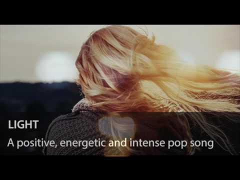Light - Positive, energetic and intense pop song - Royalty-free Music (Watermarked)