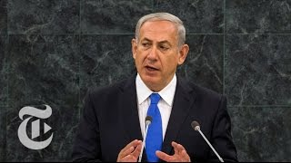 Netanyahu Speech at U.N. in 3 Minutes | The New York Times