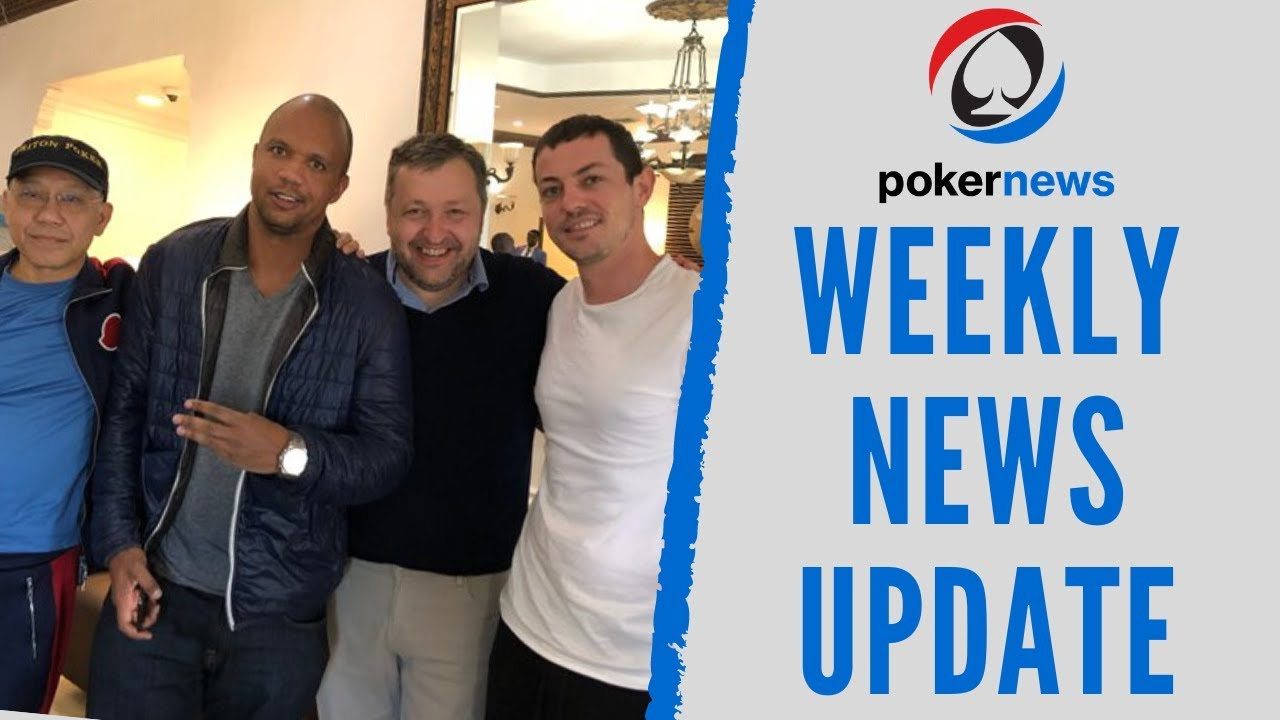PHIL IVEY & TOM DWAN playing poker on a PRIVATE JET?! The PokerNews Weekly News Report!
