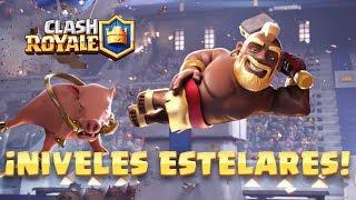 Clash Royale: ¡Presentando Niveles Estelares!