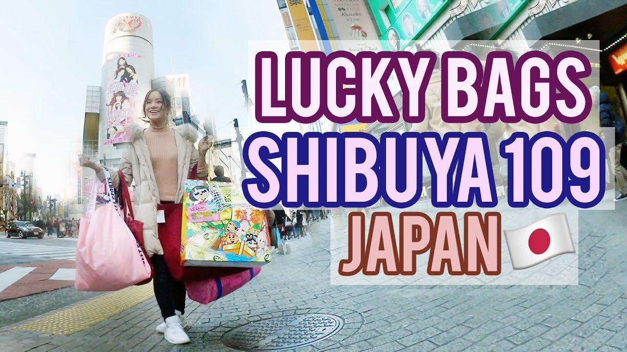 LUCKY BAG SHOPPING IN SHIBUYA109 | FUKUBUKURO 2018