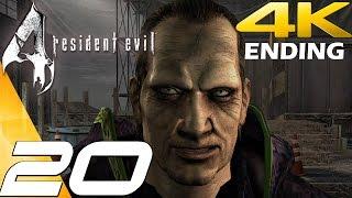 Resident Evil 4 Ultimate HD Edition - Walkthrough Part 20 - Final Boss Saddler & Ending [4K 60FPS]