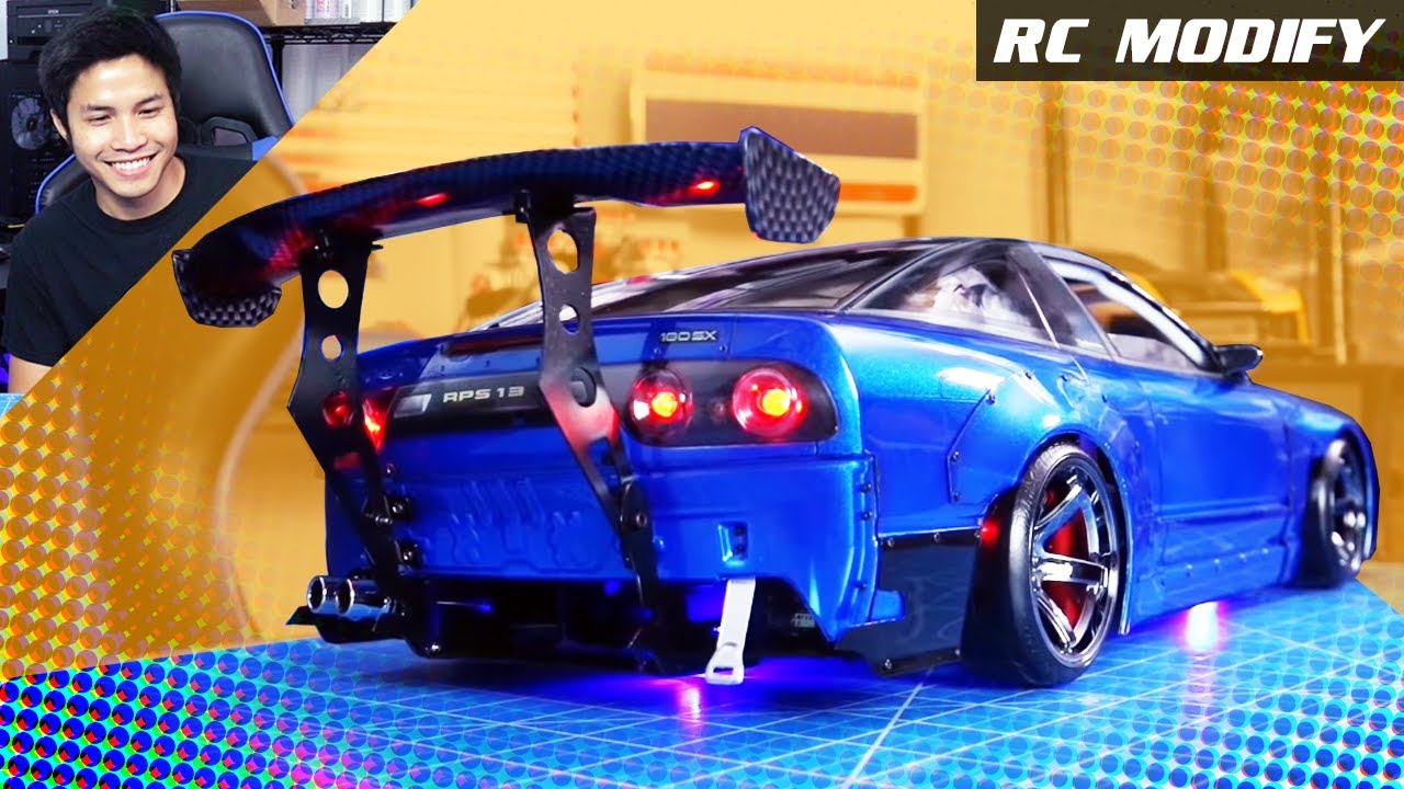 Rc Modify 25 Part 2 180sx Rocket Bunny M Drift 1 Rwd 3d