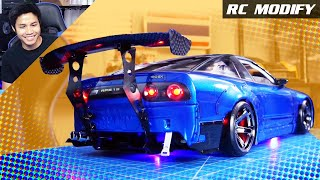 RC Modify 25 Part 2 | 180SX Rocket Bunny M-Drift 1 RWD 3D Printed