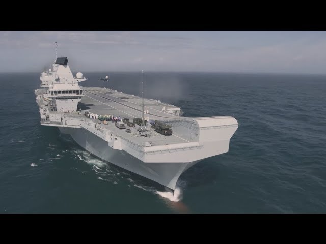 Meet the Team Supporting the HMS Queen Elizabeth F-35B Trials - Part 3