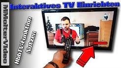 HbbTV-Funktion (Red Button)  - Interaktives TV Einrichten und Nutzen MMolterVideo