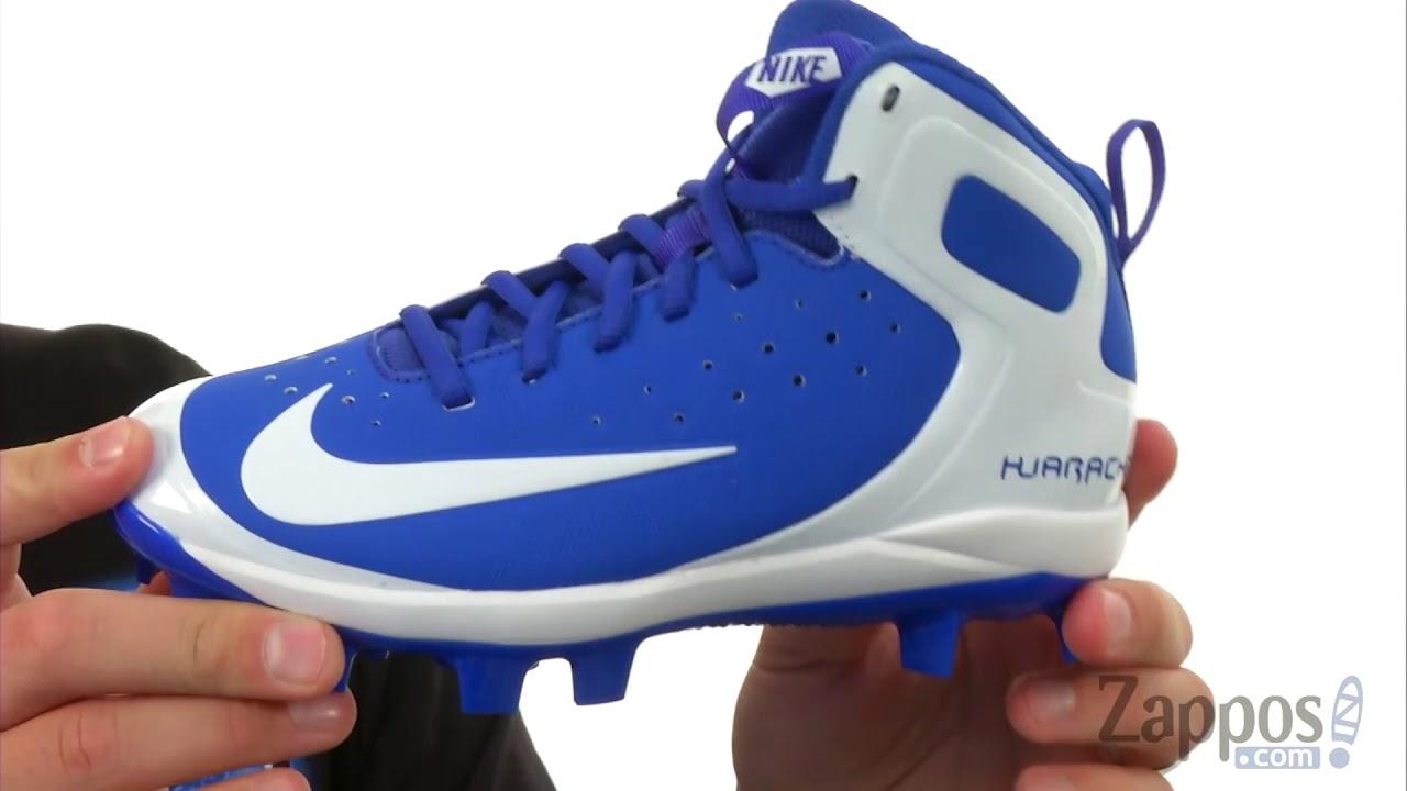 5c1bc59eca04 Nike Kids Alpha Huarache Pro Mid MCS BG (Toddler Little Kid Big Kid ...