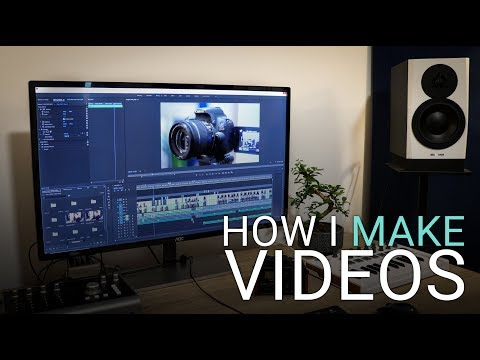 How I Make YouTube Videos - Screen Recording, Audio & Editing