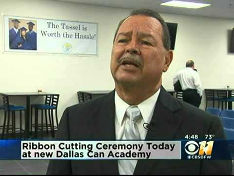 Dallas Can Academy - Grant East CBS DFW 11 News Coverage