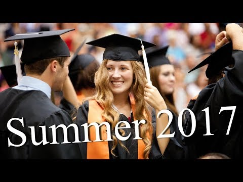 Summer 2017 Graduation Ceremony