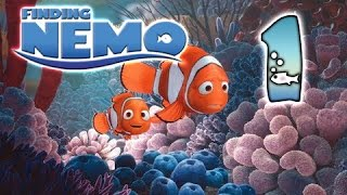 Finding Nemo Walkthrough Part 1 (PS2, XBOX, GCN) Movie Gameplay ~ 1 ~