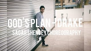 God's Plan Dhol Mix - DRAKE | Sagar Shendey | Dance Choreography