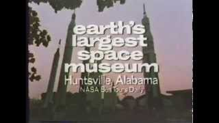 U.S Space and Rocket Center, Huntsville, AL :30 Vintage TV Commercial