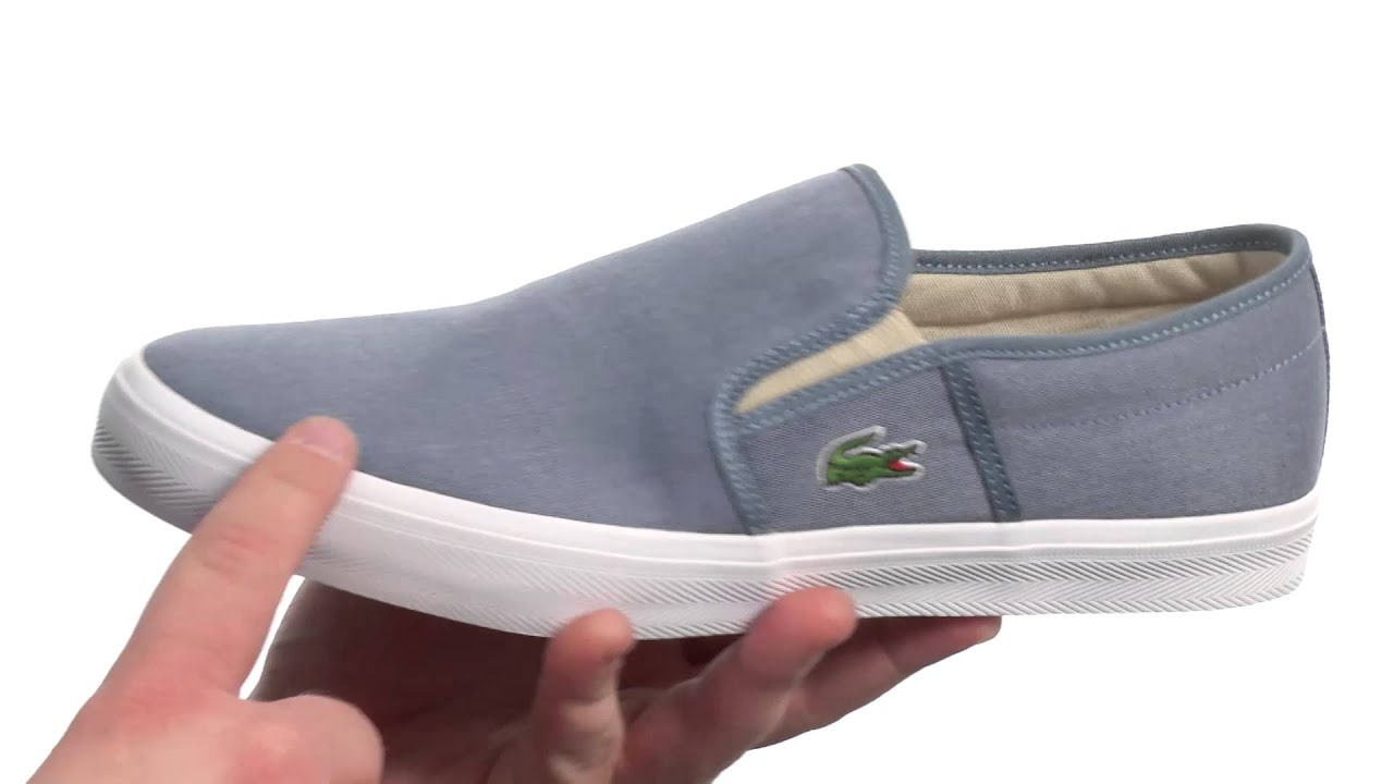 160b7c67c4646 Lacoste Gazon Sport Csu2 SKU 8470012 - YouTube