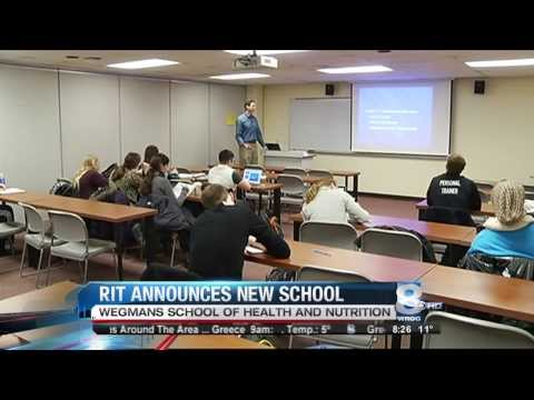 RIT on TV: Wegmans and RIT team up to form new school