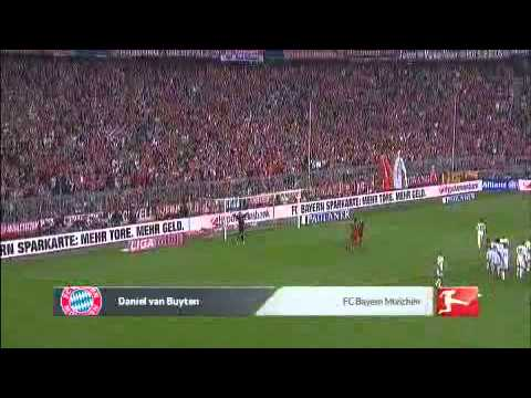 Daniel van Buyten Amazing Goal 24.09.11