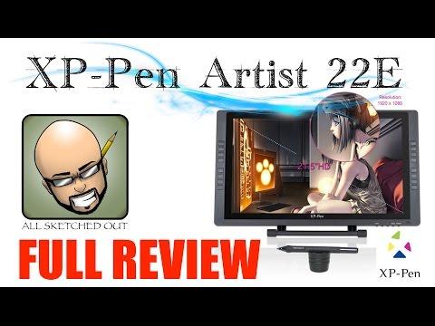 XP-Pen Artist 22E Review (Artist 22HD on Crack)
