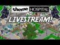 Theme Hospital HD Live Stream - Retro Games Stream